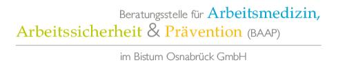 Beratungsstelle für Arbeitsmedizin, Arbeitssicherheit und Prävention im Bistum Osnabrück GmbH